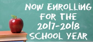 Now Enrolling 2017-2018